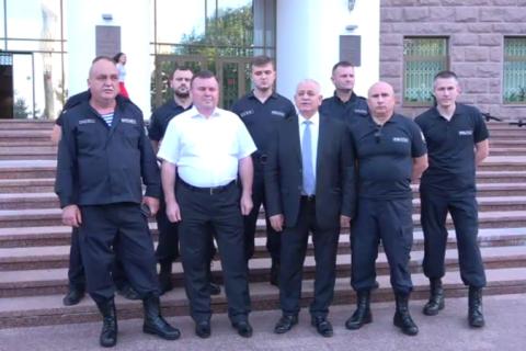 В Молдове группа офицеров МВД перешла на сторону нового правительства