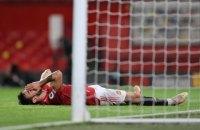 """""""Манчестер Юнайтед"""" уперше за 14 місяців програв виїзний матч англійській команді"""
