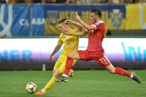 Сборная Украины в отборе на Евро-2020 с минимальным счетом победила Люксембург (обновлено)