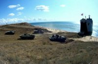 Оккупанты в Крыму отрабатывали высадку морского десанта