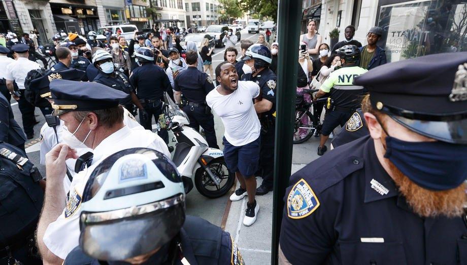 Протесты в Нью-Йорке, 29 мая 2020