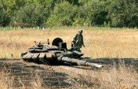 Террористы продолжают обстрел позиций украинских военных в Донецкой области