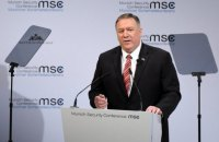 """Помпео - про війну на Сході України: """"Хотілося б, щоб США досягли більшого прогресу"""""""