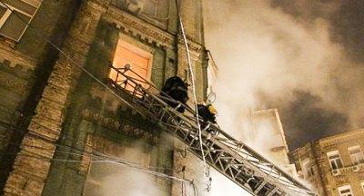 Сгоревший Киев