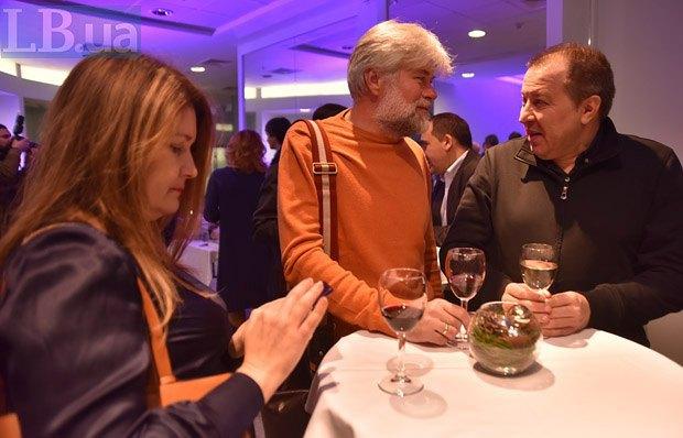 Игорь Дюрич (центр) и Сергей Дацюк (справа)