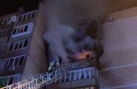 У Києві евакуювали 15 осіб під час гасіння пожежі в житловому будинку