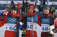 Швейцарец Колонья выиграл на Олимпиаде 15-километровую лыжную гонку коньковым ходом