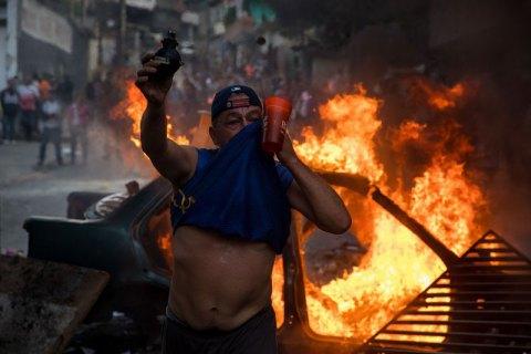 Жертвами столкновений в Венесуэле стали 16 человек