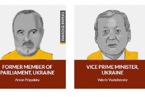 В Paradise Papers оказались экс-нардеп и бывший вице-премьер Украины
