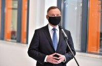 Президент Польши Дуда прилетел в Украину для участия в саммите Крымской платформы