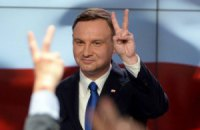 На виборах президента Польщі перемагає опозиціонер, - екзит-пол