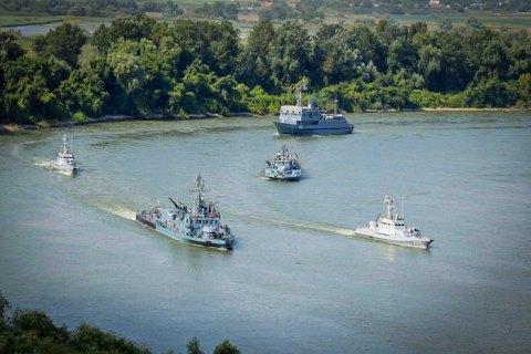 На Дунае начались украинские-румынские учения Riverine-2020