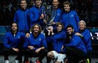 Збірна Європи з тенісу обіграла збірну світу і завоювала Кубок Лейвера