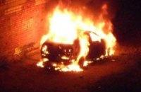 Луганскому коммунисту ночью сожгли машину