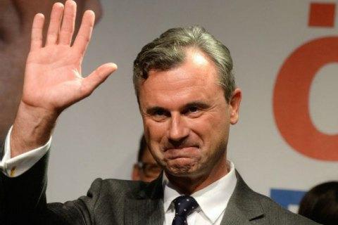 Ультраправий кандидат у президенти Австрії заговорив про референдум з приводу виходу з ЄС