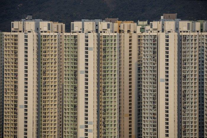 Державний житловий комплекс Yat Tung Estate, острів Лантау, Гонконг, Китай