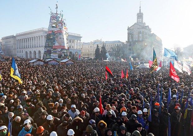 У людей, які стоять на Майдані, є відчуття, що революція - це вони