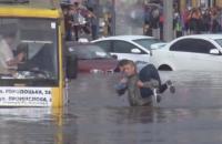 У Львові протягом години випало 28% місячної норми опадів