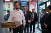 Посол США в Україні провів зустріч з генеральним директором Domino's Pizza