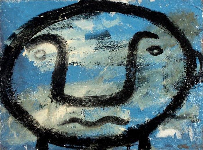 Маскарон. 1990. Колекція маєтку художника Олега Голосія та галереї The Naked Room