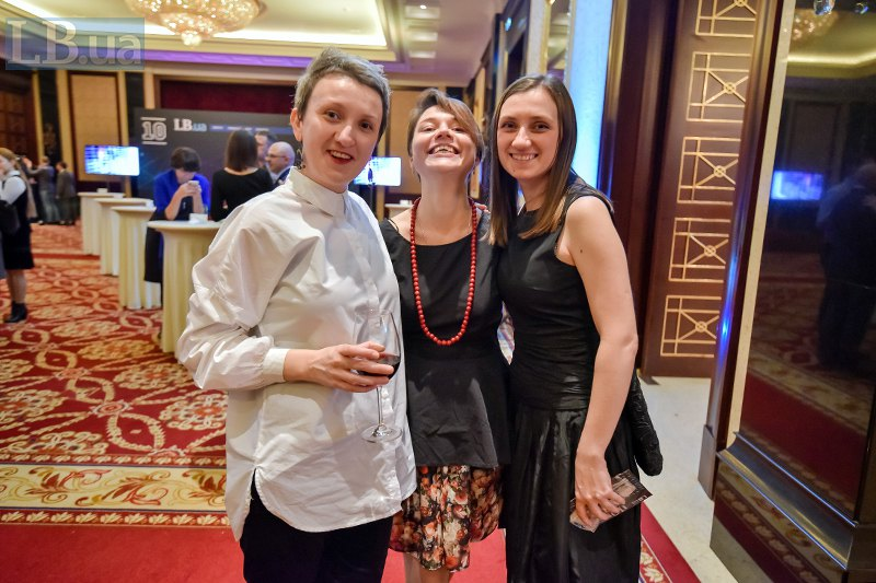 Дарья Бадьер, Виктория Герасимчук и Виктория Матола, Lb.ua