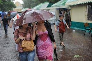 Завтра киевлянам обещают кратковременный дождь