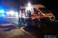 В Киеве неизвестные из авто расстреляли мотоциклиста