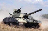 СММ ОБСЕ зафиксировала передвижение 4 танков боевиков