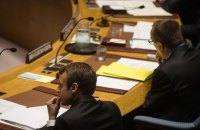 В Україні потрібна сміливість творити мир, - Макрон на Генасамблеї ООН