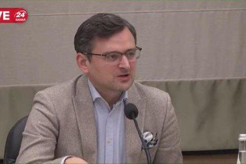 Кулеба заявил, что Украина намерена осуществить транзит материалов против коронавируса из Китая через Россию