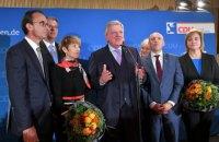 Партія Меркель на виборах у Гессені показала найгірший результат за півстоліття