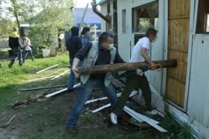 В Киеве неизвестные осквернили храм