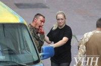 Біля Українського дому стався вибух