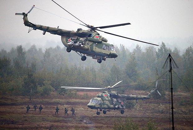 Военные учения Россия-Беларусь «Запад 2017», Борисов, Беларусь, 20 сентября 2017.