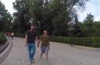 В центре Киева проверили реакцию украинцев на геев