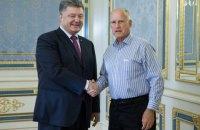 Порошенко похвастался губернатору Калифорнии потенциалом украинских IT-шников и аграриев
