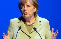 Меркель: треба продовжувати переговори зі врегулювання конфлікту на Донбасі