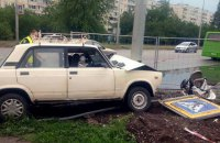 Водитель, сбивший коляску с пятимесячным младенцем в Харькове, арестован