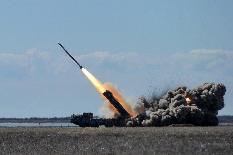 Испытания ракетного комплекса *Ольха*