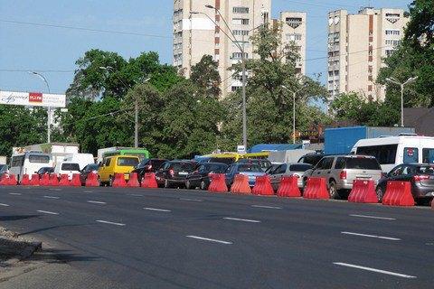 Київ витратив 1,5 млрд гривень на ремонт доріг у 2016 році