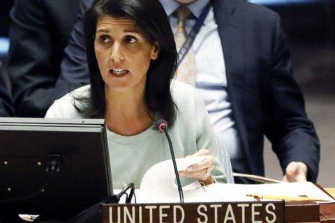 Посол США в ООН назвала одним из приоритетом политики Трампа смену режима в Сирии