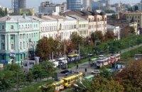 На проспекте в Днепропетровске, где прозвучали взрывы, пустили транспорт