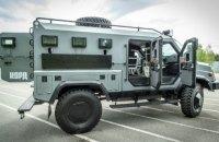 """Спецназ КОРД отримав новий бронеавтомобіль """"Варта"""""""