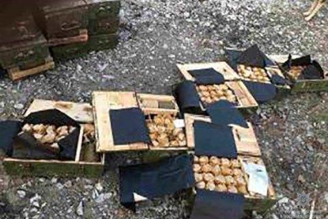 У Дніпропетровській області знову затримали КаМАЗ з гранатами