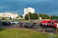 В Черкассах взорвался автомобиль местного бизнесмена