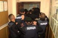 В Ровенской области местные жители подрались с полицией из-за закрытия гимназии