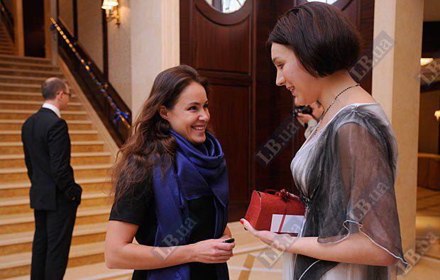 Наталья Королевская и шеф-редактор LB.ua Соня Кошкина