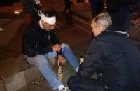 В Харькове возле постамента Ленина произошла драка (Добавлены фото)