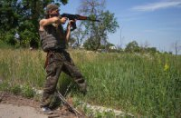 Штаб АТО повідомив про люті обстріли бойовиків після невдачі біля Мар'їнки
