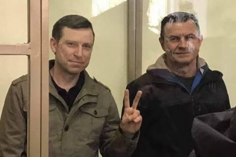 """""""Кримських диверсантів"""" Дудку і Бессарабова етапують у Ставропольський край"""